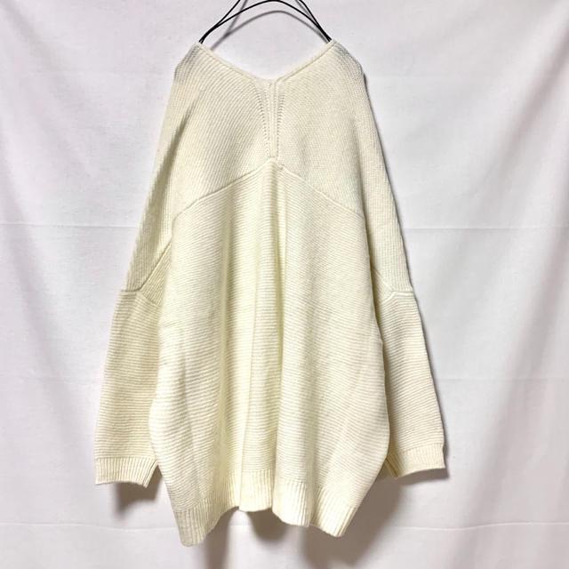 STUDIO CLIP(スタディオクリップ)の新品studio CLIPスタディオクリップゆったりニットカーディガン羊毛使用 レディースのトップス(カーディガン)の商品写真
