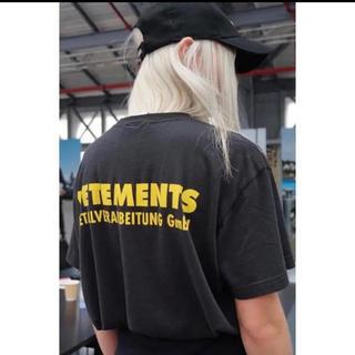 Supreme - 2018SS VETEMENTS GmbHロゴ Tシャツ