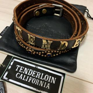 TENDERLOIN - TENDERLOIN テンダーロイン HTC T-STUD BELTベルト