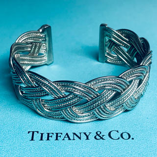Tiffany & Co. - VINTAGE TIFFANYヴィンテージティファニー ツイスト ブレイド カフ
