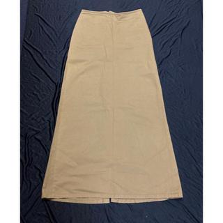 ワイズ(Y's)のY's ワイズ レディース ロングスカート 2 M 濃いベージュ(ロングスカート)