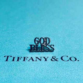 "Tiffany & Co. - VINTAGE TIFFANYティファニー ""GOD BLESS"" ピン バッジ"
