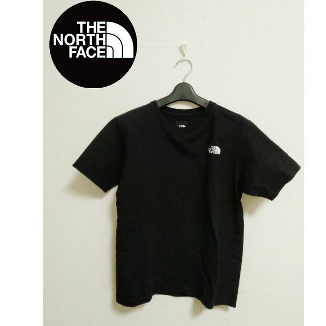 THE NORTH FACE(ザノースフェイス)の送料込み!TheNorth FaceノースフェイスシンプルTシャツブラックM レディースのトップス(Tシャツ(半袖/袖なし))の商品写真