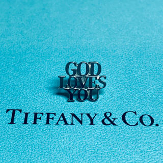 Tiffany & Co. - VINTAGE TIFFANYティファニーGOD LOVES YOUピン バッジ