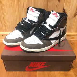 NIKE - AirJordan1 High OG × Travis scott 28.5cm