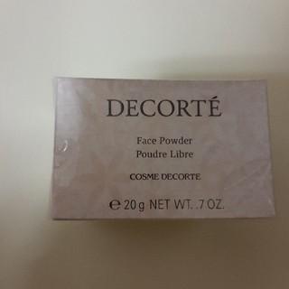 コスメデコルテ(COSME DECORTE)のCOSME DECORTE コスメデコルテ フェイスパウダー #80 20g(フェイスパウダー)