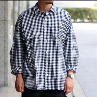 PORTER - PORTER CLASSIC  ギンガムロールアップシャツ M 2019
