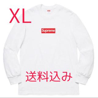 Supreme - Supreme Box Logo L/S Tee white XL