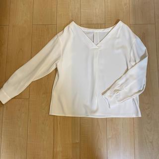 PROPORTION BODY DRESSING - 白ブラウス