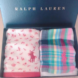 Ralph Lauren - 新品 【2枚セット】 ラルフローレン ミニタオル