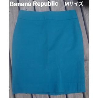 Banana Republic - Banana Republic Mタイトスカート ハイウェストひざ元