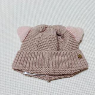 petit main - petit  main 猫耳 ニット帽