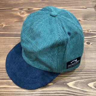 サンカンシオン(3can4on)のバイカラーキャップ GN54(帽子)