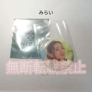 NiziU AYAKA 直筆サイン 缶バッジ