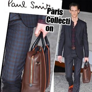 ポールスミス(Paul Smith)の完全新品 定価5.4万★Paul Smithパンツパリコレ着用 チェック美ライン(スラックス)