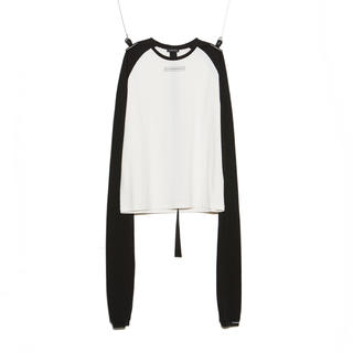 PEACEMINUSONE - PMO RAGLAN LONG SLEEVES #1 BLACK