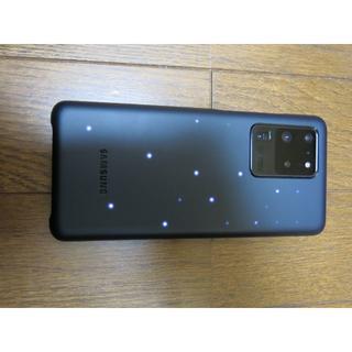 ギャラクシー(Galaxy)のGalaxy S20 Ultra LED BACK COVER 黒色(Androidケース)