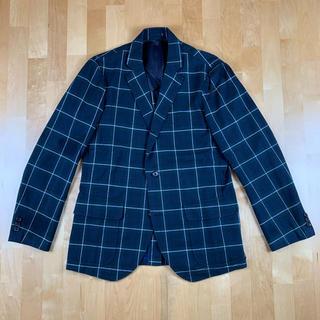 ヴァンヂャケット(VAN Jacket)のVAN JAKET ヴァンヂャケット チェックテーラードジャケット Mサイズ(テーラードジャケット)