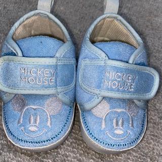 Disney - ミッキースニーカー12センチ