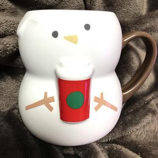 Starbucks Coffee - 【美品】スターバックス スノーマン マグカップ