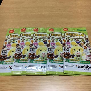 ニンテンドースイッチ(Nintendo Switch)の【新品未開封】どうぶつの森 amiibo カード パック(その他)