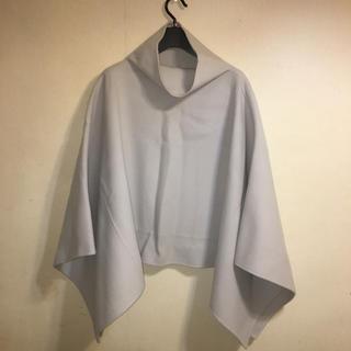 ダナキャランニューヨーク(DKNY)の美品 DKNY ダナキャランニューヨーク ポンチョ コート FREE(ポンチョ)