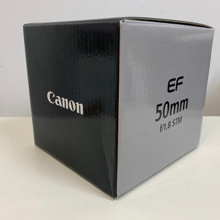 Canon - 【新品未使用】キヤノンEF50mm F1.8 STM