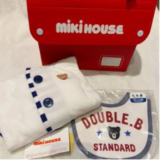 mikihouse - 新品未使用 ミキハウス mikihouse ポンチョ 70 80 90 スタイ