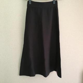 ムジルシリョウヒン(MUJI (無印良品))の新品 無印 ニットスカート(ロングスカート)