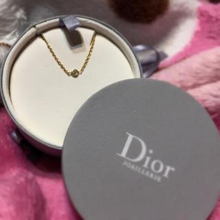 クリスチャンディオール(Christian Dior)のChristian Dior ♡ K18YG 一粒ダイヤ ブレスレット ミミウィ(ブレスレット/バングル)