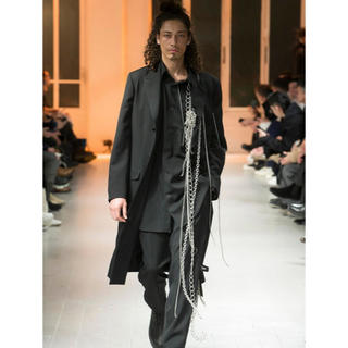 Yohji Yamamoto - ヨウジヤマモト コレクションピース チェーンシャツ