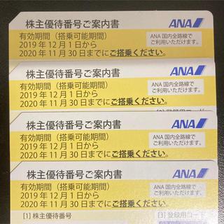 エーエヌエー(ゼンニッポンクウユ)(ANA(全日本空輸))の株主優待券 ANA(航空券)