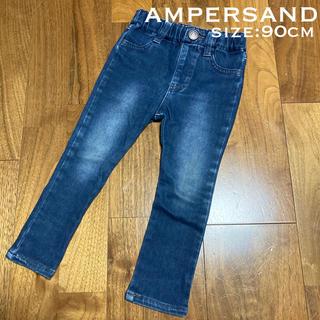 アンパサンド(ampersand)のAMPERSAND☆デニムパンツ 90cm スキニー ストレッチ(パンツ/スパッツ)