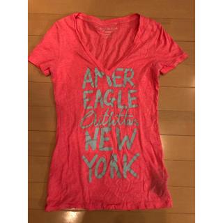 アメリカンイーグル(American Eagle)のアメリカンイーグル★半袖Tシャツ XSサイズ(Tシャツ(半袖/袖なし))