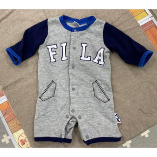 フィラ(FILA)のロンパース FILA 男の子 50〜60㎝(ロンパース)