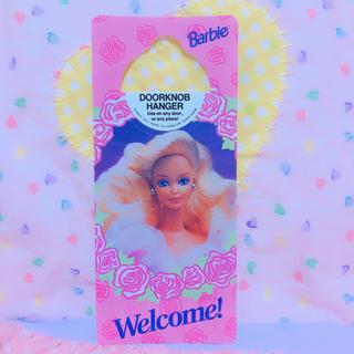 バービー(Barbie)の*バービー♡ドアプレート*(キャラクターグッズ)