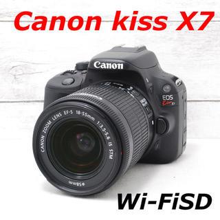 Canon - ❤️シャッター回数わずか1347枚❤️スマホ転送❤️Canon kiss X7