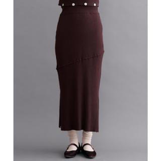 Lochie - merlot ニットスカート