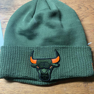 ニューエラー(NEW ERA)のニューエラ ビーニー ニット帽 ブルズコラボ  NBA(ニット帽/ビーニー)