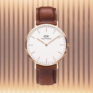 ダニエルウェリントン(Daniel Wellington)の 保証付き【40㎜】ダニエルウェリント 腕時計〈DW00100006〉0106(腕時計(アナログ))