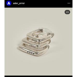 メゾンキツネ(MAISON KITSUNE')のadererror bolt ring 新品(リング(指輪))