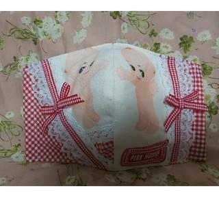 ピンクハウス(PINK HOUSE)のハンドメイド インナーマスク リメイク ピンクハウス キューピー・ギンガム(その他)