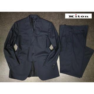 KITON - kiton  キートン 88万 最高級カシミヤストライプセットアップスーツ