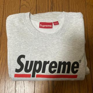 Supreme - supreme underline crewneck