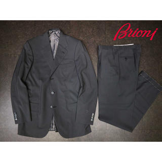 LORO PIANA - ブリオーニ brioni 83万19SS グレーセットアップスーツ