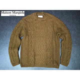 Maison Martin Margiela - マルタンマルジェラ 13万 新品タグ付き アルパカウールケーブルオーバーニット