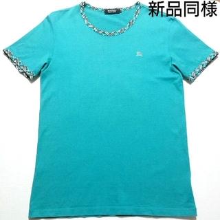 バーバリーブラックレーベル(BURBERRY BLACK LABEL)の🖤人気作デザインTシャツ🖤新品同様🖤(Tシャツ/カットソー(半袖/袖なし))