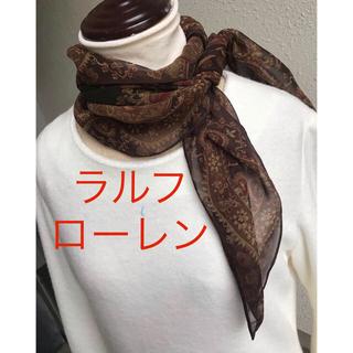 ラルフローレン(Ralph Lauren)の極薄スカーフ(バンダナ/スカーフ)
