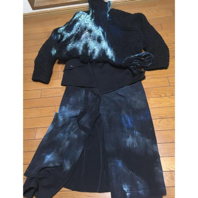 Yohji Yamamoto(ヨウジヤマモト)のyohjiyamamoto 20awルック32セット メンズのトップス(ニット/セーター)の商品写真