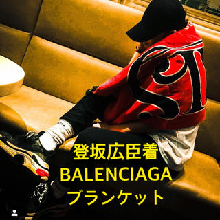 Balenciaga - 【同型色】登坂広臣着 BALENCIAGA PARIS ブランケット マフラー
